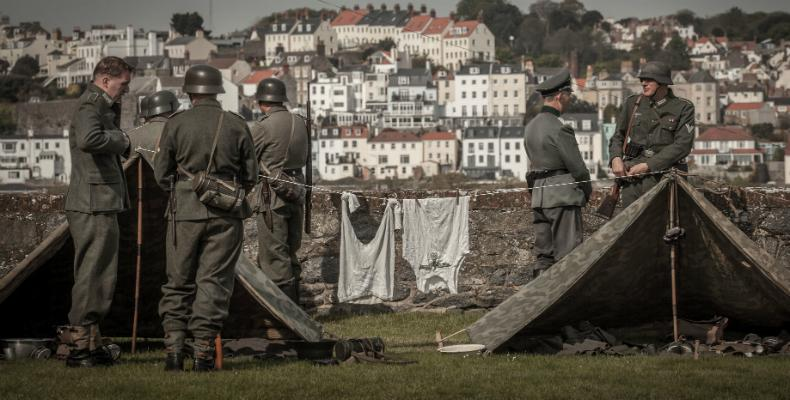 The German Occupation of Guernsey at Castle Cornet, a re-enactment