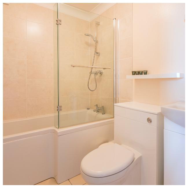 bathroom in The Ellingham Cottages, St Martins, Guernsey