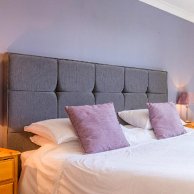 The Ellingham Self Catering Cottages in Guernsey master bedroom